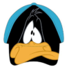 gorra infantil del pato lucas